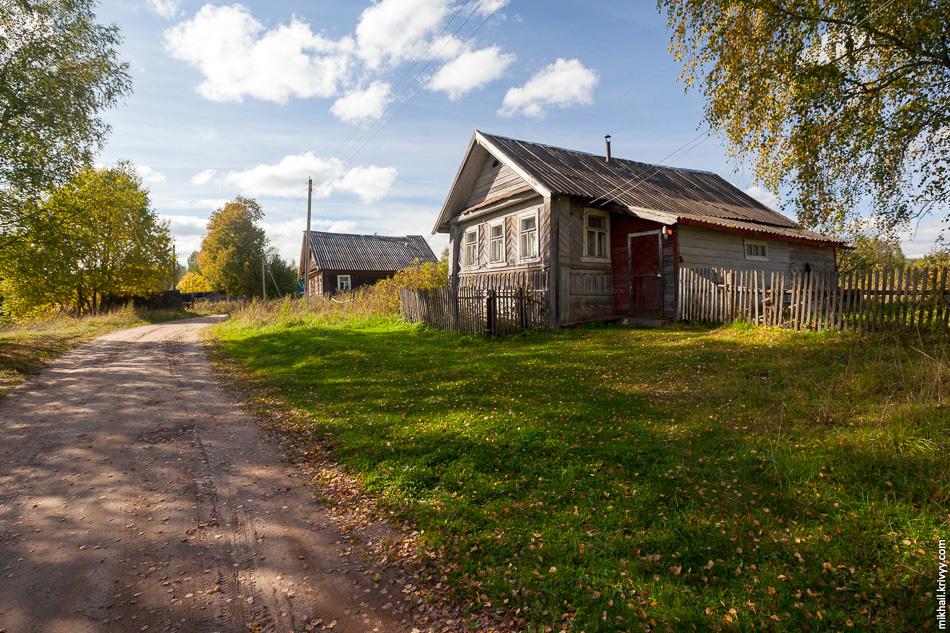 Бывший ФАП (фельдшерско-акушерский пункт) в деревне Ольховка.