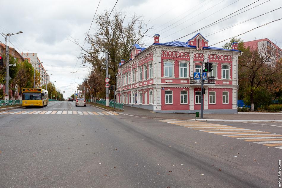 Все, что мне удалось найти. Музей мордовской народной культуры, здание музей - памятник городской архитектуры начала XX века.