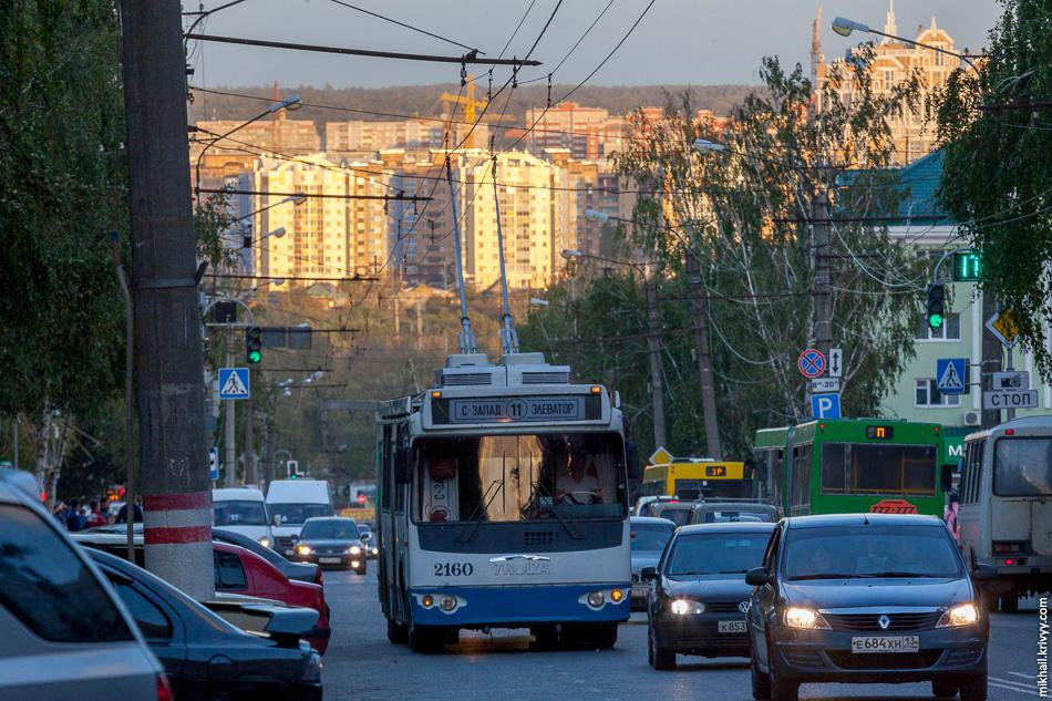 Троллейбус ТролЗа.