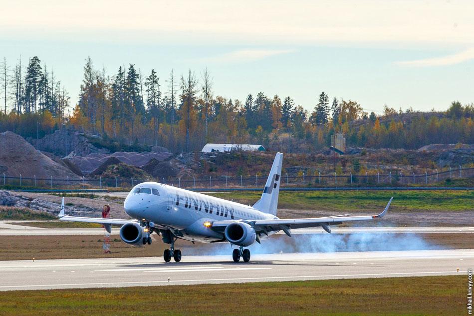 Finnair, Embraer 190, OH-LKK.
