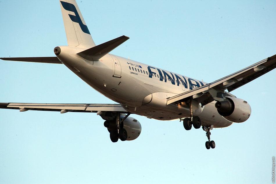 Finnair, Airbus A319, OH-LVG.