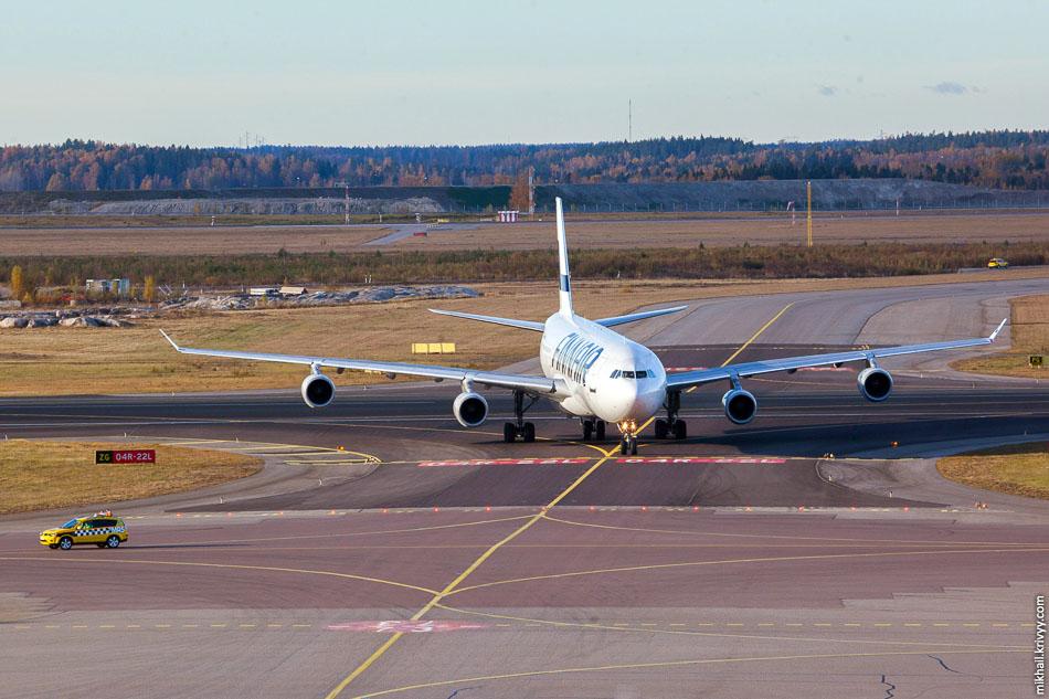 Finnair, Airbus A340, OH-LQA.