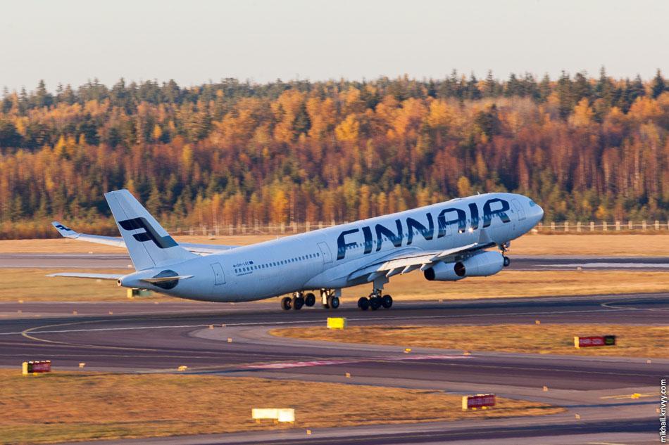 Finnair, Airbus A340, OH-LQC.