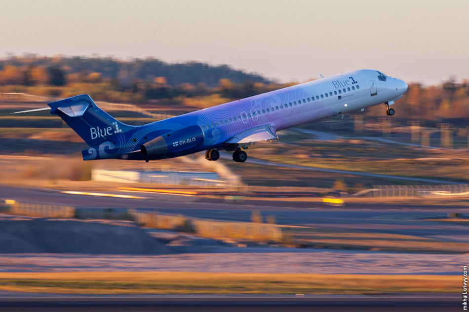 Blue1, Boeing 717, OH-BLQ