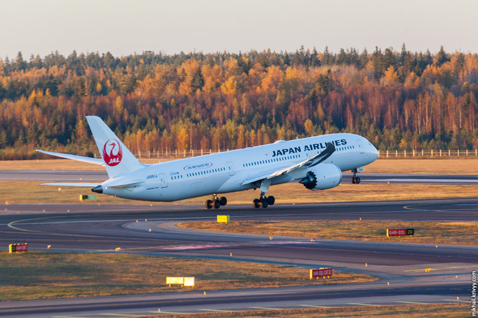 "Japan Airlines, Boeing 787 ""Dreamliner"", JA861J."