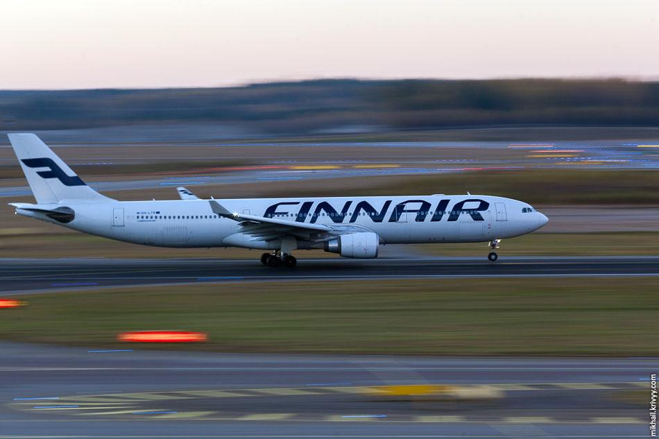Finnair, Airbus A330, OH-LTR.