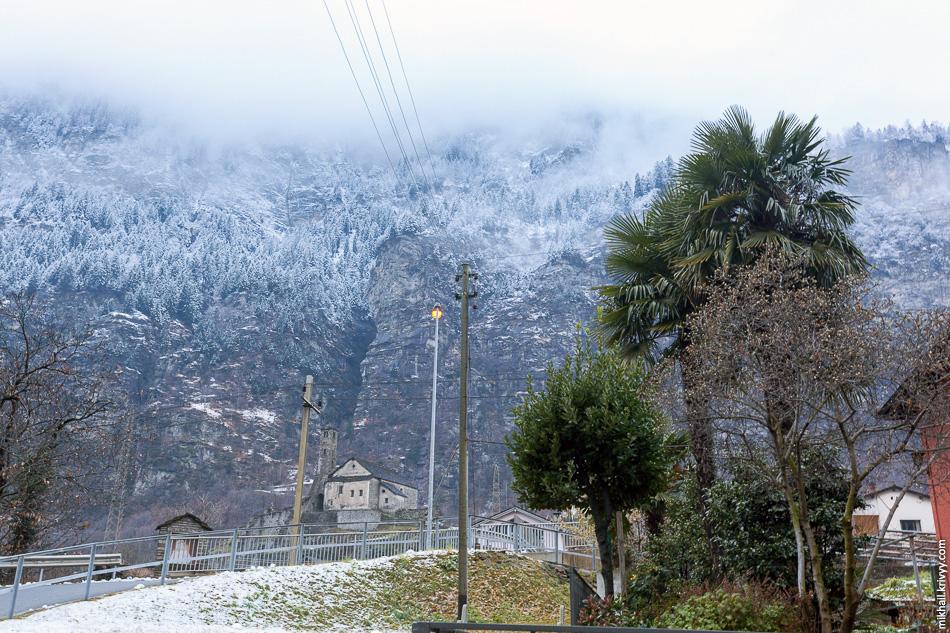 Снег и пальмы, особенности итальянских кантонов Швейцарии.