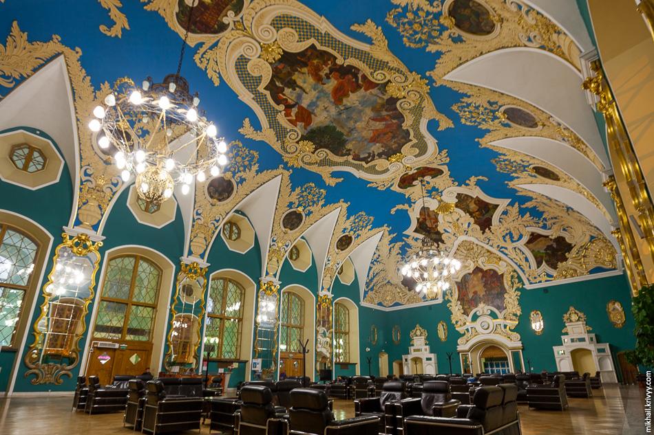 Зал повышенной комфортности Казанского вокзала.