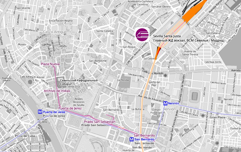2. Трамвайная линия T1 Metrocentro.