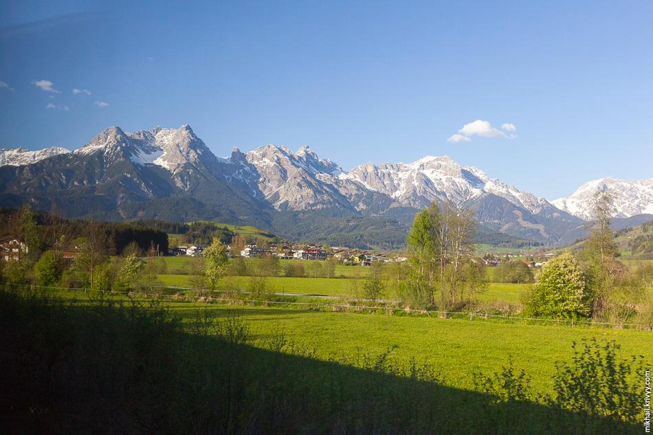 Тирольские Альпы.
