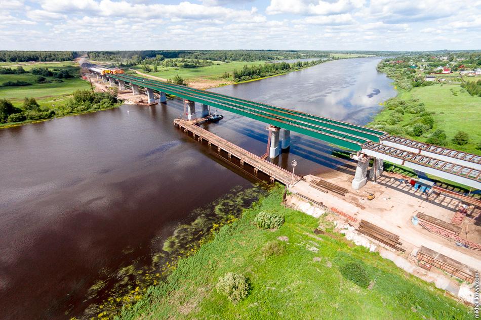 Рабочее движение по мосту планируют открыть уже в этом году.