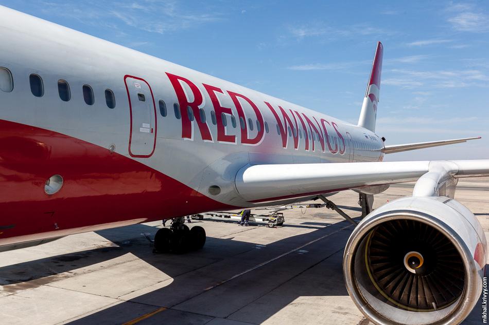 "Ту-204 авиакомпании ""Red Wings"". RA-64049."