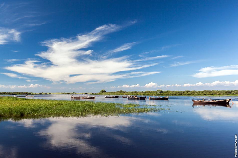 Село Взвад - «Мекка» для рыбаков и охотников на южном берегу Ильменя.