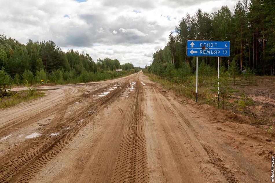 Прямо на дороге стоит передвижной пункт скупки грибов. Белые от 10 до 70 рублей за килограмм, в зависимости от категории.