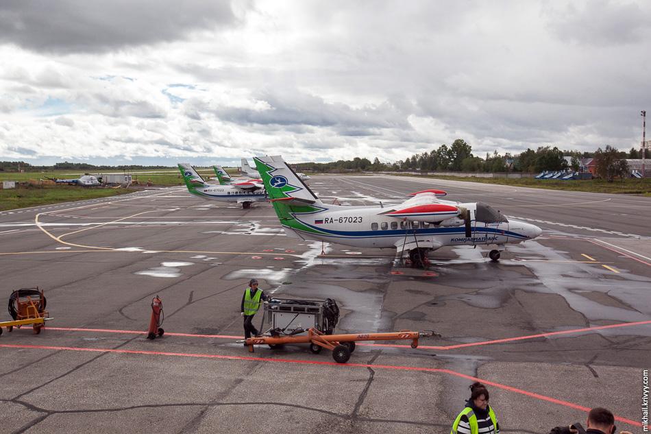 Четыре чешских L-410 способны брать на борт до 19 пассажиров и заменили Ан-2 на региональных линиях.