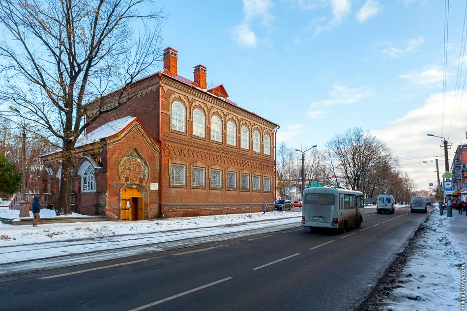 Здание музея «Русская старина» улице Тенишевой, 7, 1905 год.