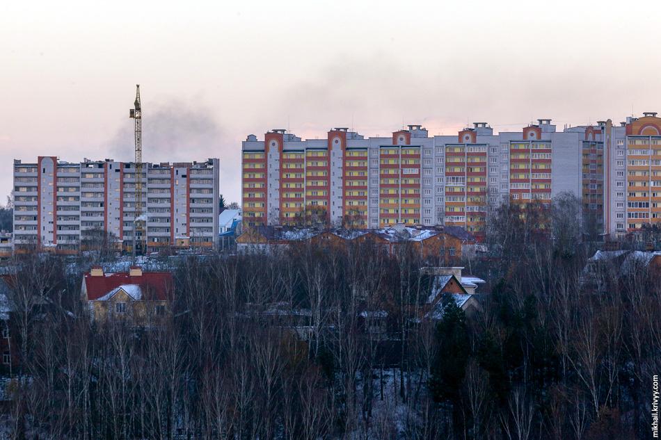 Строительство по улице Юбилейной.