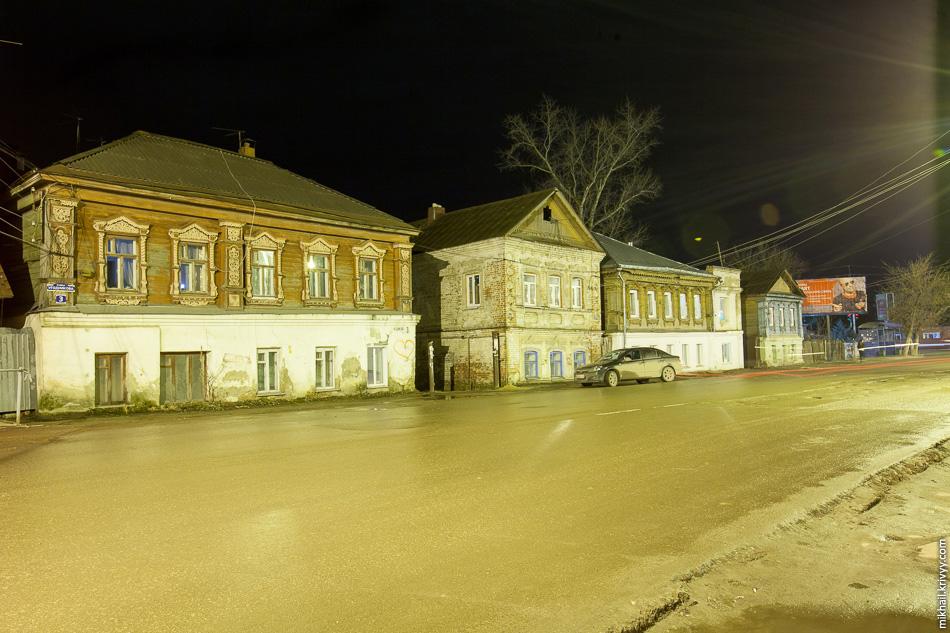 Жилые дома по улице Мучной ряд. Арзамас.